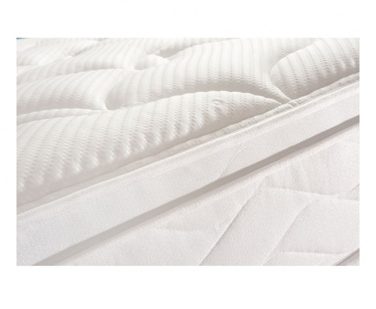 Sealy pearl geltex 4ft6 double divan bed by sealy for Double divan with mattress