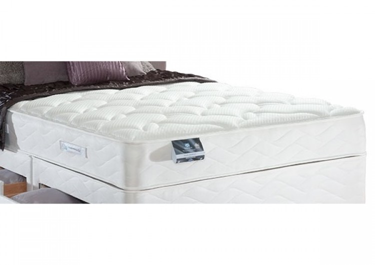 sealy pearl memory 3ft6 large single mattress by sealy. Black Bedroom Furniture Sets. Home Design Ideas