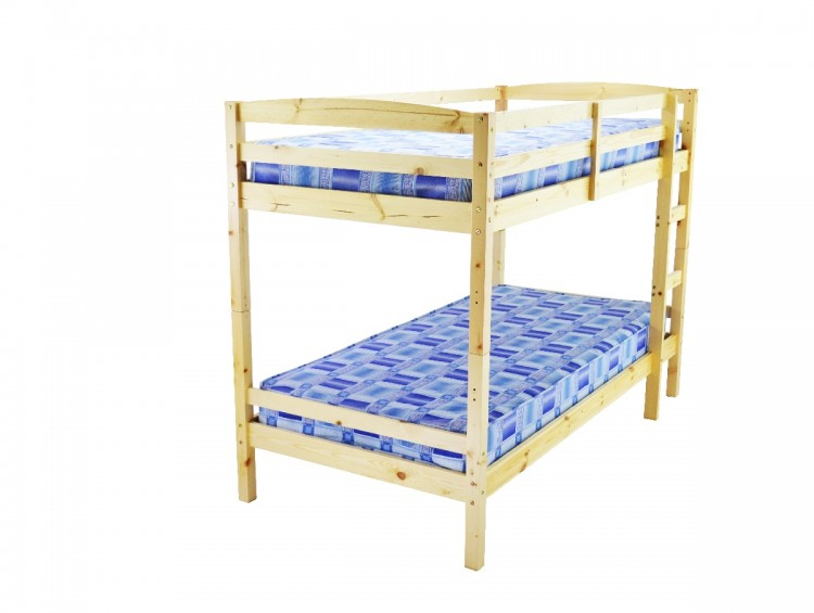 Metal Beds Nordic Pine Wooden Bunk Bed By Metal Beds Ltd