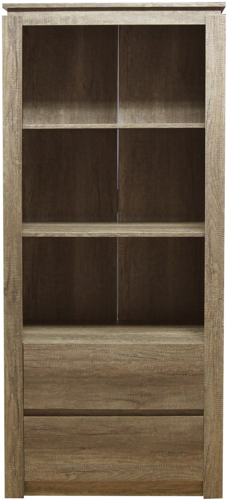 Gfw Canyon Oak Effect Bookcase Show More Information