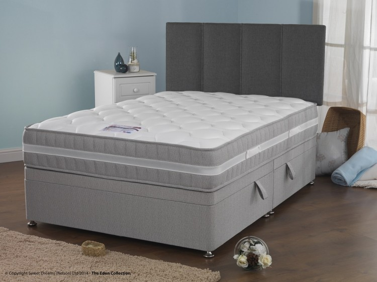 Sweet Dreams Chamber 4ft6 Double Sleepzone Divan Bed By Sweet Dreams