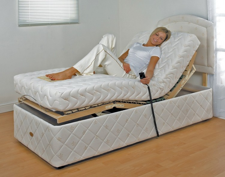 furmanac mibed chloe 2ft6 small single electric adjustable. Black Bedroom Furniture Sets. Home Design Ideas