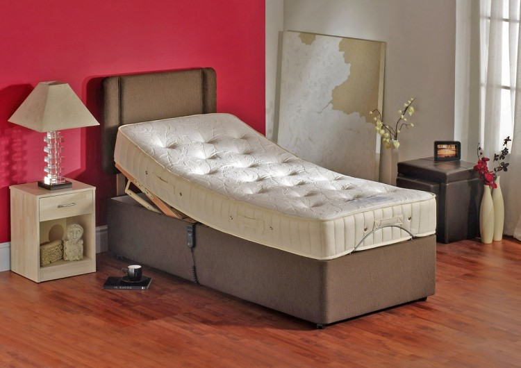 Double Adjustable Beds Electric : Furmanac mibed leanne ft double electric adjustable bed