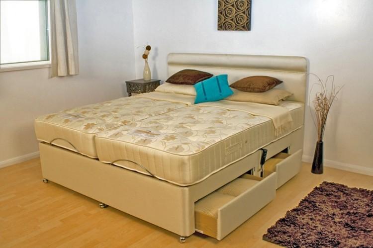 Furmanac Mibed Emma 5ft Kingsize Electric Adjustable Bed