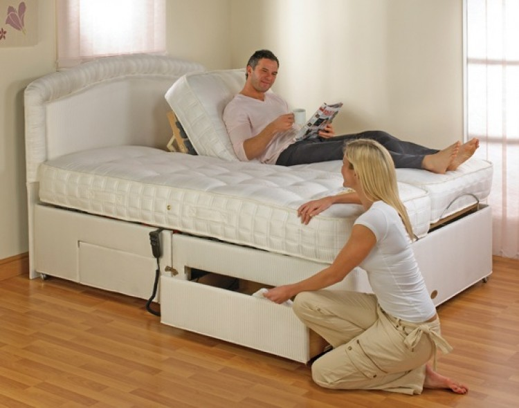 Adjustable Beds For Two : Furmanac mibed emily ft super kingsize electric