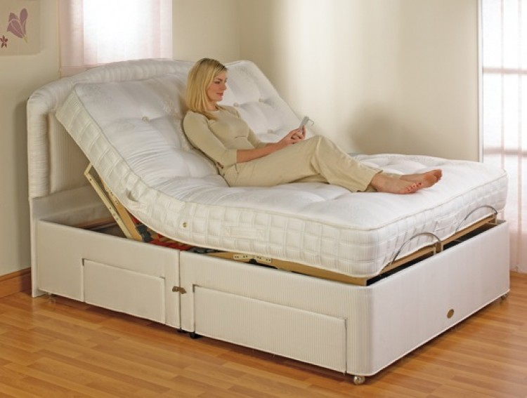 Furmanac Mibed Emily 4ft Small Double Electric Adjustable Bed by MiBed