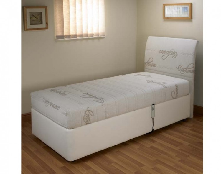 Double Adjustable Beds Electric : Furmanac mibed cassandra ft double electric adjustable
