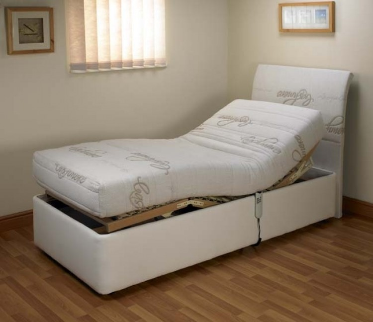 Furmanac Mibed Cassandra 3ft Single Electric Adjustable Bed by MiBed