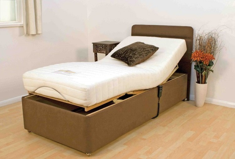 Adjustable Beds For Two : Furmanac mibed doris ft small single electric adjustable