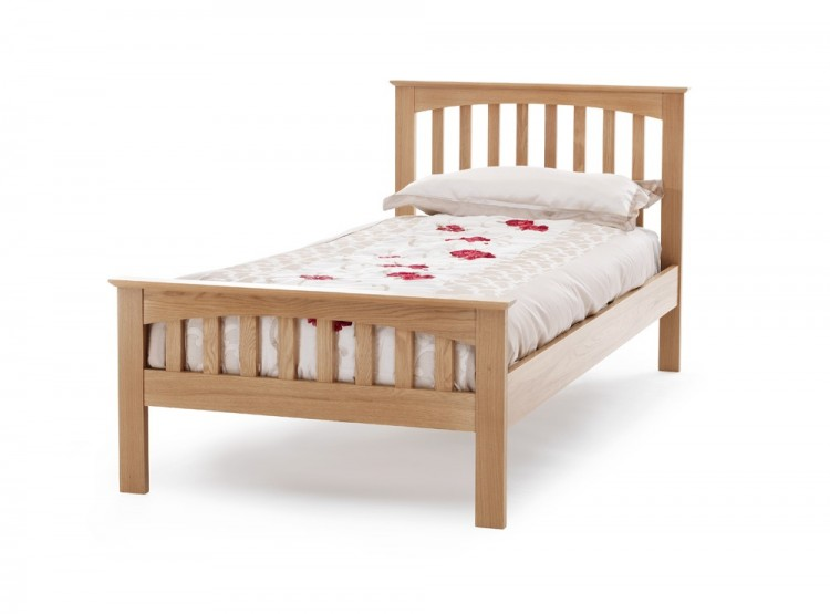 Serene Windsor 3ft Single Oak Bed Frame By Serene Furnishings