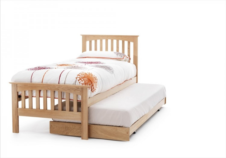 Serene Windsor 3ft Single Oak Guest Bed Frame By Serene