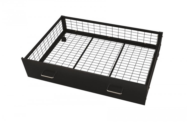 Serene Urban Black Under Bed Drawers By, Under Bed Storage Drawers On Wheels