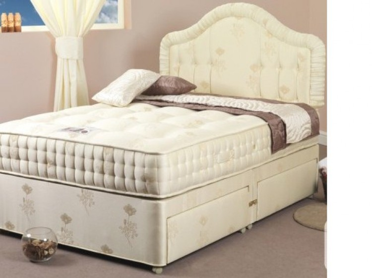 Home divan beds see all and filter by size or price sealy for Divan bed frame sale