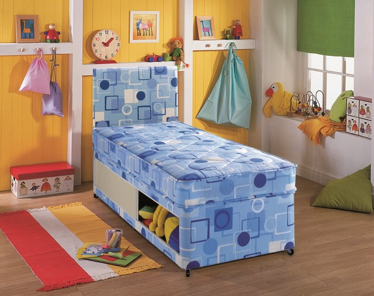 separation shoes 48831 f6dd9 Airsprung Alpha 2ft6 Small Single Divan Bed by Airsprung Beds