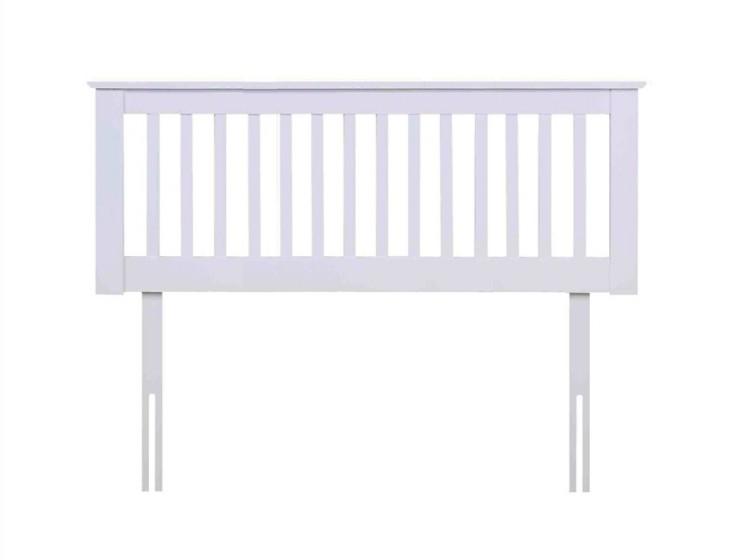 flintshire pentre 4ft small double white wooden headboard. Black Bedroom Furniture Sets. Home Design Ideas