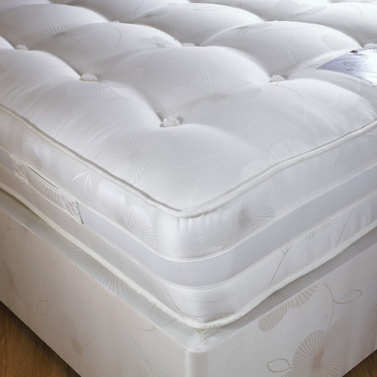 Dura bed supreme 1600 4ft6 double pocket sprung mattress for Double divan bed with pocket sprung mattress