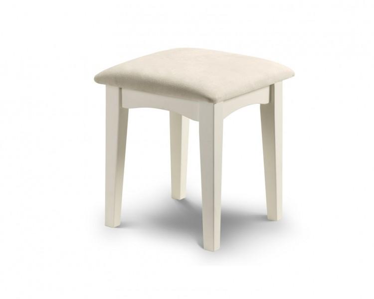 Julian bowen la rochelle stone white dressing table stool by julian bowen - La table basque la rochelle ...
