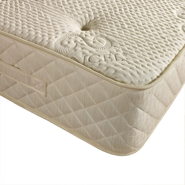 Dura bed tencel pocket 1000 5ft kingsize pocket sprung for Single divan bed with pocket sprung mattress