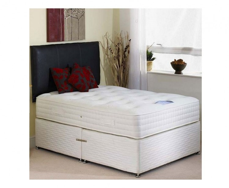 Highgrove affinity 2000 pocket spring 4 39 small double for Double divan bed with pocket sprung mattress