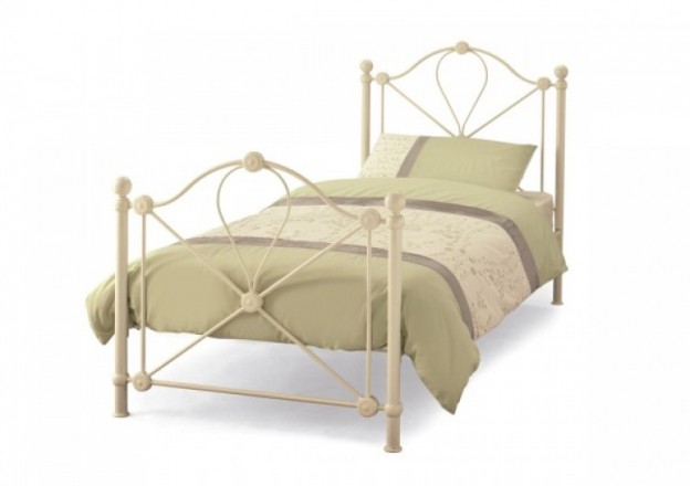 Serene Furnishings - Ivory Bed Frame